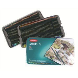 Picture of DERWENT ARTISTS ASSORTED TIN 72