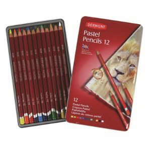 Picture of DERWENT PASTEL ASSORTED TIN 12