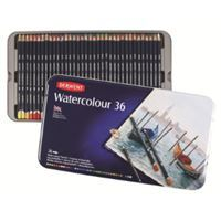 Picture of DERWENT WATERCOLOUR ASSORTED TIN 36