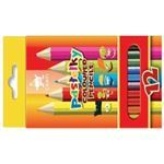 Picture of PASTELKY COLOURED PENCILS 12'S KIDS