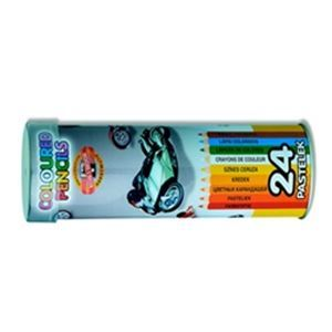 Picture of TUBE 24 PENCIL CRAYONS KIDS