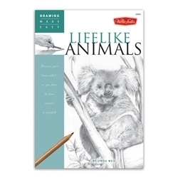 Picture of WALTER FOSTER DRAWING MADE EASY 9 LIFELIKE ANIMALS