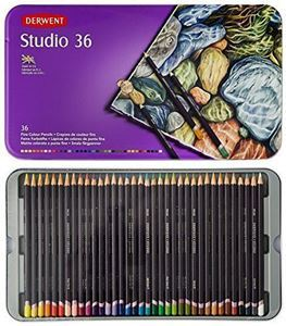 Picture of DERWENT STUDIO ASSORTED TIN 36