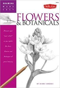 Picture of WALTER FOSTER DRAWING MADE EASY 6 FLOWERS & BOTANICALS