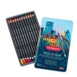 Picture of DERWENT PROCOLOUR TIN OF 12