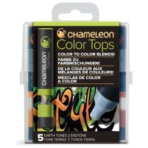 Picture of CHAMELEON 5-COLOUR TOPS EARTH TONES