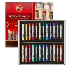 Picture of TOISON D'OR SOFT ROUND PASTELS SET OF 24