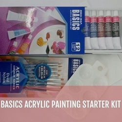 Picture of ART RANGERS ACRYLIC PAINTING STARTER KIT + FREE PALLETE