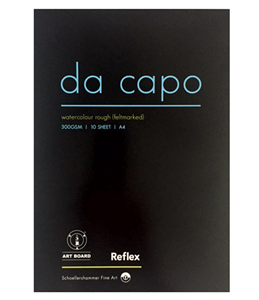 Picture of REFLEX DA CAPO WATERCOLOUR PAD A4 300GSM 10SHT