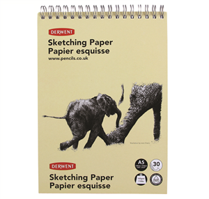 Picture of ELEPHANT SKETCH PAD PORTRAIT 165GSM A5
