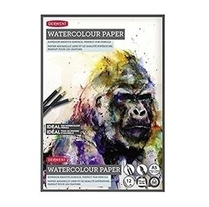 Picture of DERWENT WATERCOLOUR PAD 300GSM A4