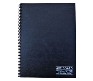 Picture of VISUAL JOTTER BLACK PAPER 160G 50SHT