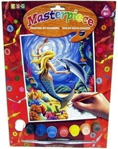Picture of PAINT BY NUMBER JUNIOR MERMAID