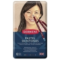 Picture of DERWENT PASTEL SKINTONE TIN 12