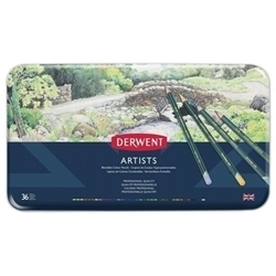 Picture of DERWENT ARTISTS ASSORTED TIN 36