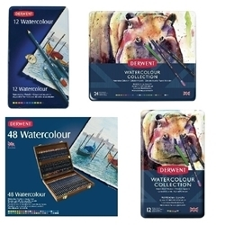 Picture for category DERWENT WATERCOLOUR PENCIL SETS