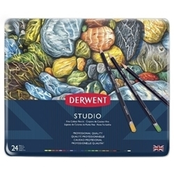 Picture of DERWENT STUDIO ASSORTED TIN 24