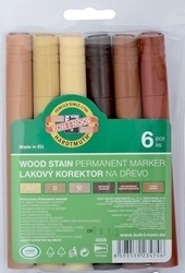 Picture of KOH-I-NOOR WOOD STAIN MARKER 6PCS