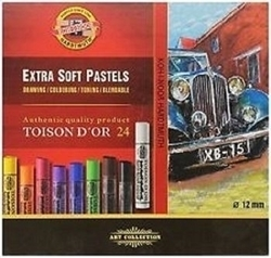 Picture of KOH-I-NOOR ARTIST EXTRA SOFT PASTELS 24PC