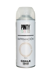Picture of PINTY PLUS CHALK PRIMER  WHITE SPRAY 400ML