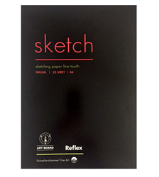 Picture of REFLEX SKETCH A4 90GSM 25SHT