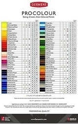 Picture of DERWENT PROCOLOUR TIN OF 24
