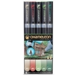 Picture of CHAMELEON 5 PEN SET NATURE TONES