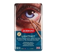 Picture of DERWENT LIGHTFAST PENCIL SET 12
