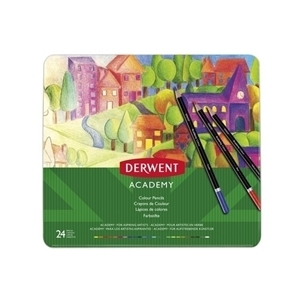 Picture of ACADEMY COLOURING PENCILS TIN 36
