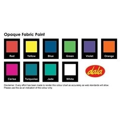 Picture of DALA OPAQUE FABRIC PAINT 50ML