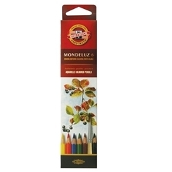 Picture of MONDELUZ AQUARELLE PENCIL CRAYONS SET 6
