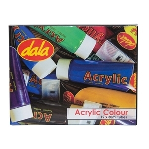 Picture of DALA ACRYLIC COLOUR 12 X 30ML KIT