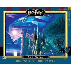 Picture of New York Puzzle Journey To Hogwarts 500 Pcs