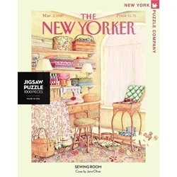 Picture of New York Puzzle Sewing Room 1000 Pcs