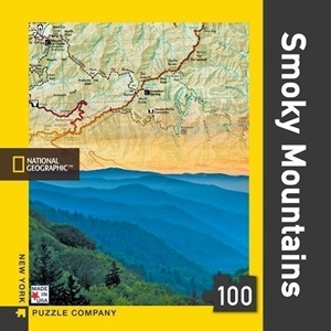 Picture of New York Puzzle Smoky Mountains Mini 100 PCS