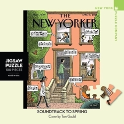 Picture of New York Puzzle Soundtrack To Spring Mini 100 PCS