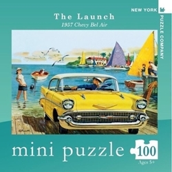 Picture of New York Puzzle The Launch Mini 100 PCS