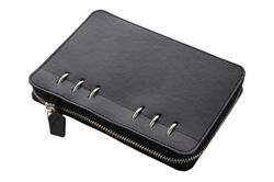 Picture of FILOFAX CLIPBOOK A5 MONOCHROME BLACK WITH ZIP