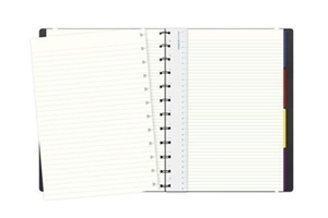 Picture of FILOFAX NOTEBOOK A4 CLASSIC RULED BLACK