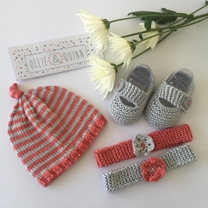 Picture of Knotty Hat Gift Set Newborn
