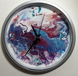 Picture of FLUID ART CLOCK KIT