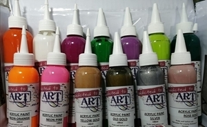 Picture of FLUID ART METALLIC / NEON PAINT 100ml