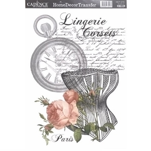 Picture of CADENCE DÉCOR TRANSFER PAPER LINGERIE