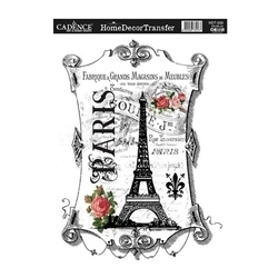Picture of CADENCE DÉCOR TRANSFER PAPER PARIS 2