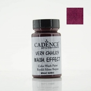 CADENCE CHALKY WASH EFFECT BORDEAUX 90ML