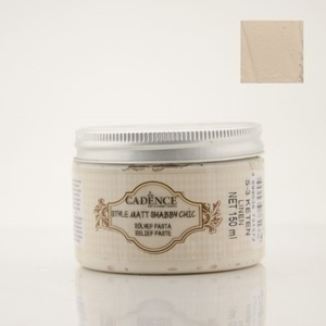 CADENCE STYLE MAT RELIEF PASTE LINEN 150ML
