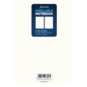 FILOFAX NOTEBOOK REFILL A5 CLASSIC WHITE BULLET JOURNAL