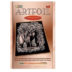 ARTFOIL COPPER GORILLA