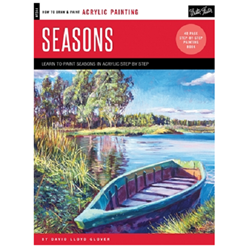 HOW TO DRAW SEASONS IN ACRYLIC