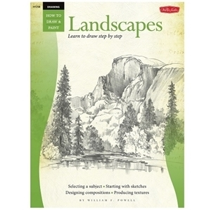 WALTER FOSTER HOW TO 258 LANDSCAPE POWEL